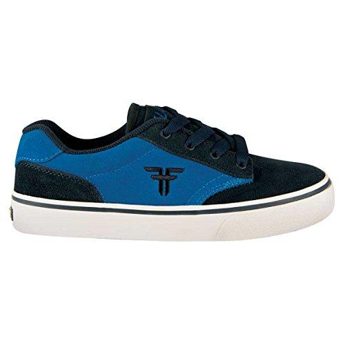 Fallen SLASH Youth 43070008 - Zapatillas de skate de ante para niños Midnight Blue/G