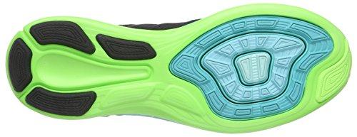 NIKE Nike LunarEclipse 5 - Zapatillas para hombre Negro (Schwarz/helles Retro/blitz-limone/weiß)