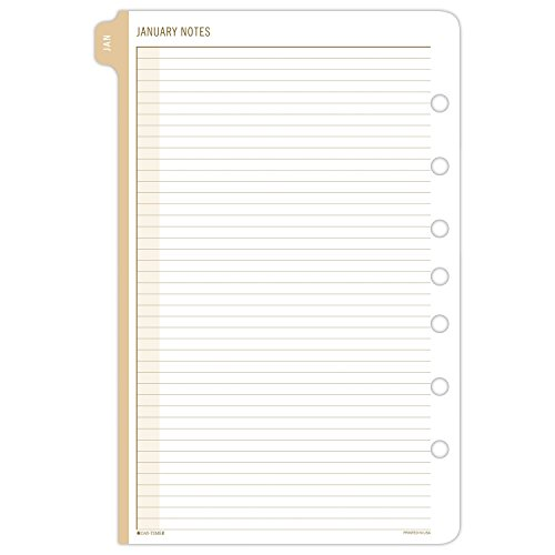 30 off day timer daily planner calendar refill 2017 two page per