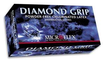 Large Diamond Grip Gloves, 100/box