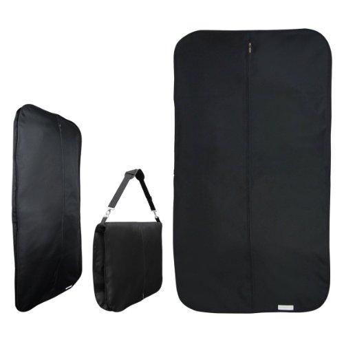 Hangerworld- 2 Borse Porta abiti da viaggio con tracolla - 112 cm