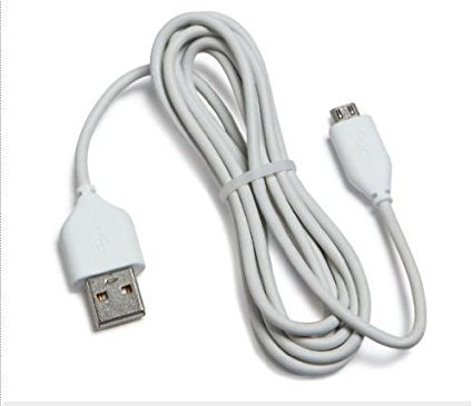 Amazon Kindle Replacement USB Cable, White (Works with Kindle Fire, Touch, Keyboard, DX, and Kindle) 3-Pack