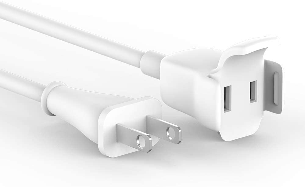 Universal Power Adapter Extension Cord Cable Compatible with Apple MacBook Pro, MacBook Air USB C Charger, Magsafe L/T Tip Charger, Any Brand USB C Charger, Appliances AC Extend Cord, 6ft / 1.8m