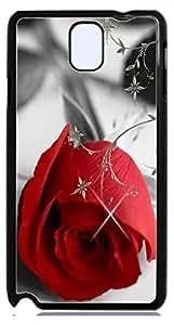 HeartCase Hard Case for Galaxy Note 3 III N9000 ( Romantic Rose Flower )