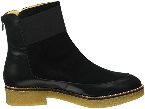 Shoe The Bear Damen Alma Kurzschaft Stiefel, Schwarz (Black), 37 EU