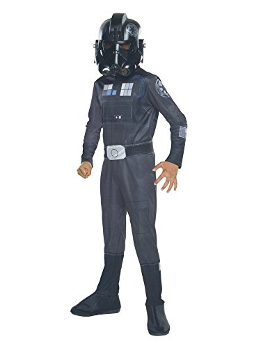 Rubie's Star Wars Rebels Tie Fighter Pilot Child Costume, Small]()