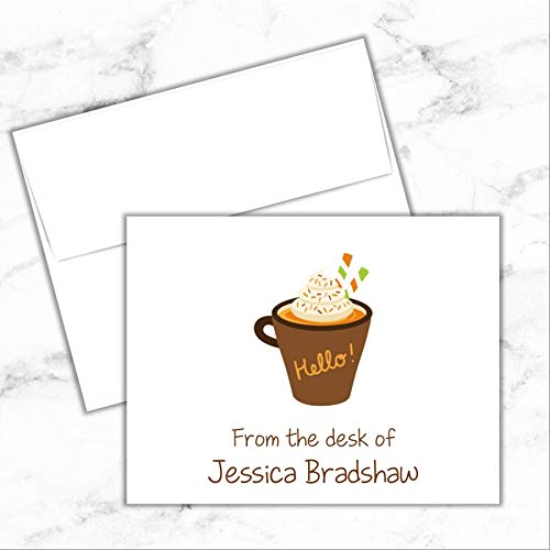 - Pumpkin Spice Note Cards with Envelopes Set of 10