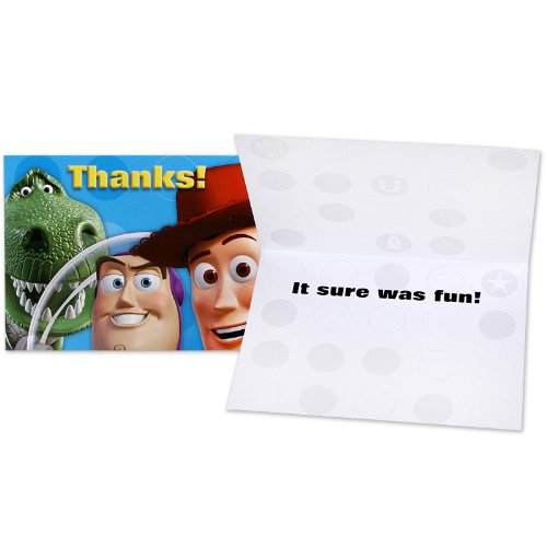 Hallmark Toy Story 3 Thank-You Notes - 8 ct