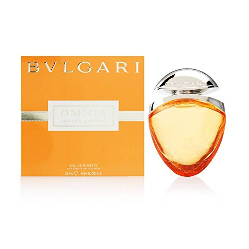 Bvlgari Omnia Indian Garnet Eau De Toilette Spray 0.84 Oz / 25 Ml For Women, 6.08 Ounce
