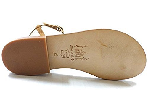 DANIELE AW119 Zapatos 40 EDDY Gamuza Marrón Mujer Sandalias qH1PxOEH