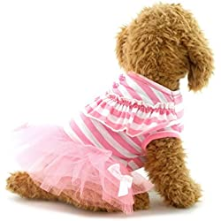 smalllee_lucky_store Pet Dresses, Small, Pink