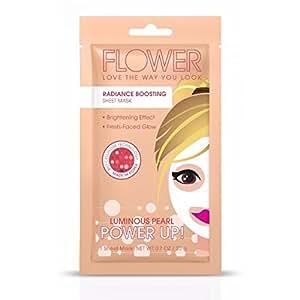 Flower Radiance Boosting Power Up Sheet Mask, 0.7 oz