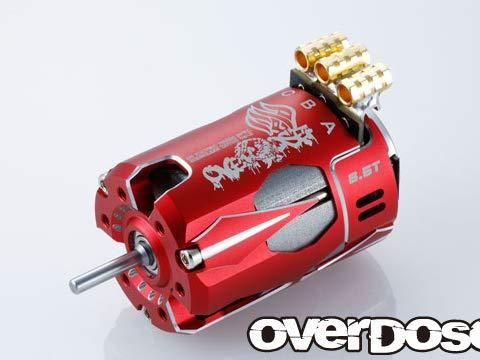 OD Factory Tuned Spec. Brushless Motor Ver.3 6.5T(レッド) #OD2603 B07Q4GJY39