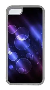 Customized Case Circle TPU Transparent for Apple iPhone 5C