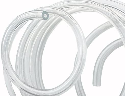 Fetcus 17S ID 1.2mm OD2mm PTFE Teflon Tubing Pipe Wire Protection 600V