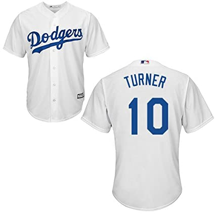 Justin Turner Los Angeles Dodgers YOUTH 2015 Cool Base Home Jersey (Large) f16312dd924