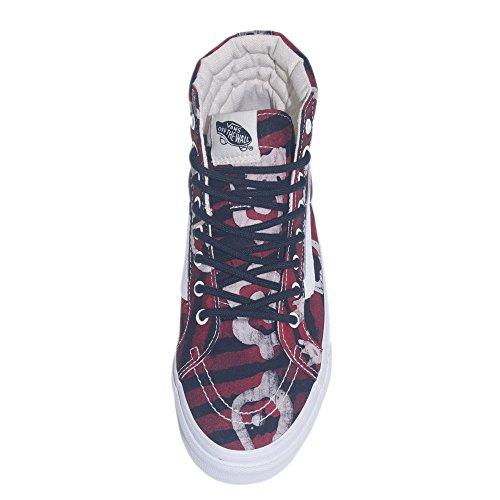 Vans - Zapatillas de Deporte Mujer Rojo - rojo