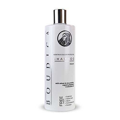 Boudica Shampoo volumizzante Senza Solfati, con keratina - 500ml Boudica Naturals BOUVOL500