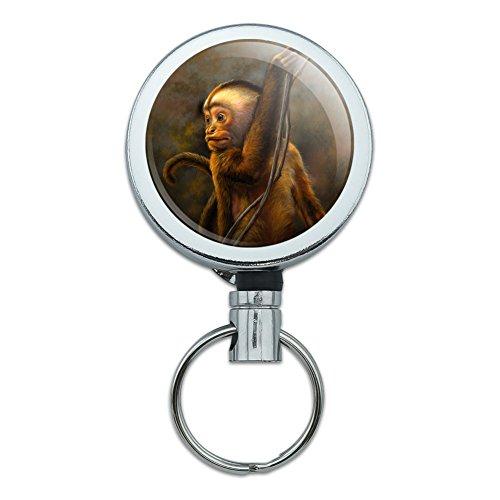 n Grinder Heavy Duty Metal Retractable Reel ID Badge Key Card Tag Holder with Belt Clip ()