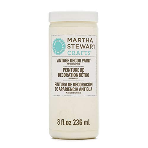 Martha Stewart Matte Chalk Ivory, 8 oz Paint