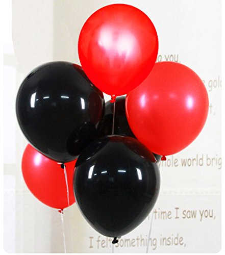 Black and Red Balloons, CREATEASY 12
