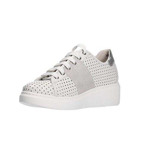 MELLUSO Zapatillas Mujer R20704 para Blanco Bianco rqCratA