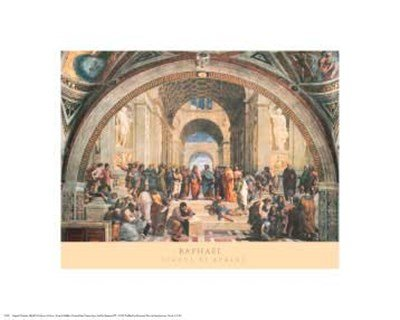 - The School of Athens, c.1511 by Raphael - 20x16 Inches - Art Print Poster
