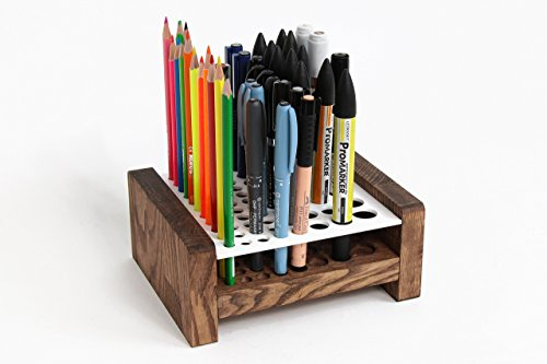 Pen Holder, Pencil Holder, Desk Accessories, Desk Organizer, Office Accessories, Makeup Brush Holder, Brush Holder, Pencil Cup, Pen Stand by Promi Design