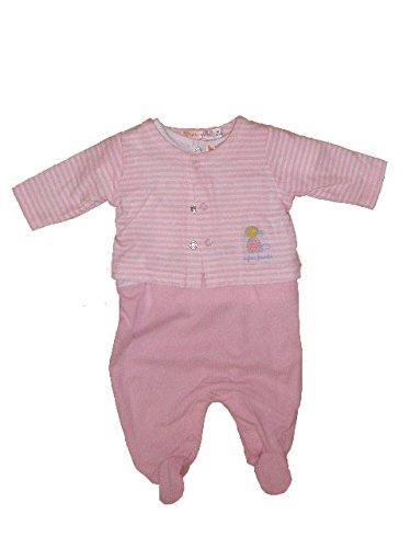 Babybol - Pelele - para bebé niña rosa 56 cm: Amazon.es: Ropa y accesorios