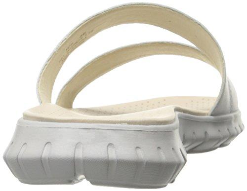 Women's Sandal Two Zerogrand Haan Slide Vapor Optic Strap Grey Cole White gOFan