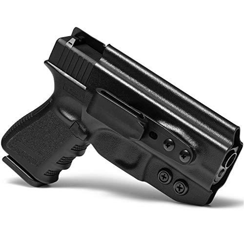 Concealment Express Tuck IWB KYDEX Holster fits Glock G43/43X | Ambidextrous | Black