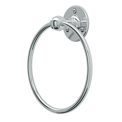 Gatco 4412 Cafe Towel Ring, Chrome - Ring Towel European