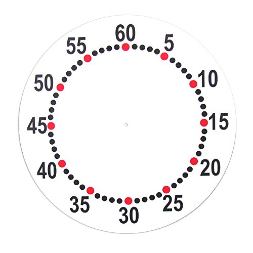 Color Dial Face Replacement for 31 Inch Competitor Pace Clock