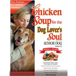 Chicken Soup for the Dog Lover's Soul Dry Dog Food for Senior Dog, Chicken Flavor, 35 Pound Bag, My Pet Supplies