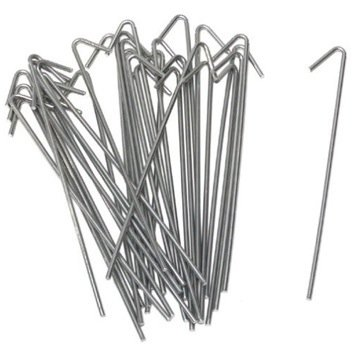 """Chain Link Fence Wire Ties (100 Count) 8-1/4"""" Length for Posts up to 2-1/2"""""""