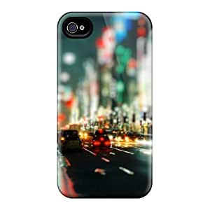 GLkTpXg4237eJcpJ Tpu Case Skin Protector For Iphone 4/4s Streets Night City Lights With Nice Appearance by icecream design