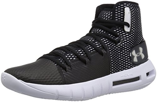 Under Armour Men's Drive 5 Basketball Shoe, Black (003)/White, 11 ()