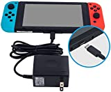 Nintendo Switch AC Adapter - YCCTEAM Nintendo Switch Charger with 5 FT Power Supply Cord and Type C Fast Charging kit - 15V 2.6A AC Adapter for Nintendo Switch Supports TV Mode and Dock Station
