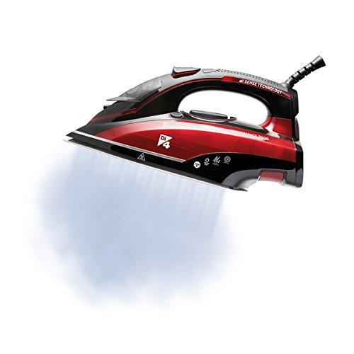 Di4 Performance Ferro da Stiro a Vapore Iron Rosso//Nero 0.36 Litri 3200 W