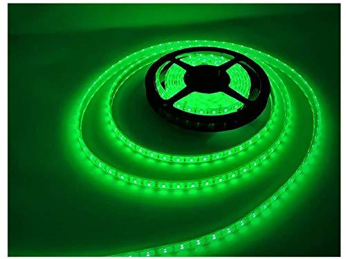 Marine Pond (LEDeXTREME (Green) Powerful 15000 Lumens SMD5630 IP68 Waterproof 100% Submersible Outdoor 16.4 ft./5 Meter 300 LED lights (per reel) LED Light Strips Ponds, Patios, Deck Lighting, Pools, Saltwater)