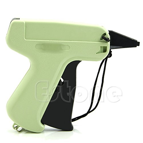 MEXUD Price Label Tagging Clothes Garment Tag Gun + 1000 Barbs + 5 Needles (Garment Tag Gun With Tags compare prices)