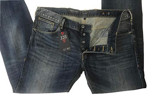 ARMANI JEANS AJ Mens Slim Fit Pants W40 X L34 Blue