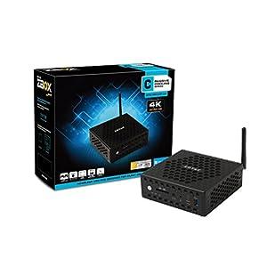 ZOTAC ZBOX CI325 Nano Fanless Mini PC Intel N3160 CPU Intel HD Graphics 4GB Memory 32GB SSD Windows 10 (ZBOX-CI325NANO-U-W2B)