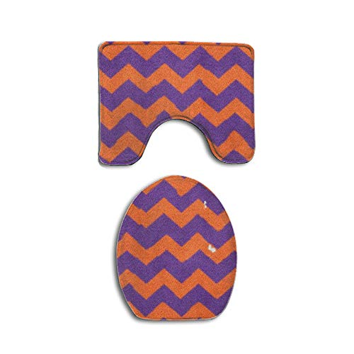- Clemson Tiger Paw Football South Carolina Territory Bathroom Rug 2 Piece Bath Mat Set Contour Rug