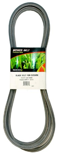 Exmark Deck Belt (Maxpower 336371 Mower Blade Belt for 60-Inch Exmark Lazer Decks Model 1-633127)