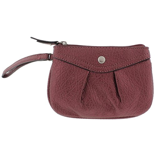Co Faux Leather Wristlet...