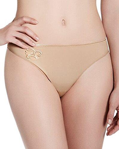 Simone Perele Women's Andora Thong Panty, Café, 2-Small