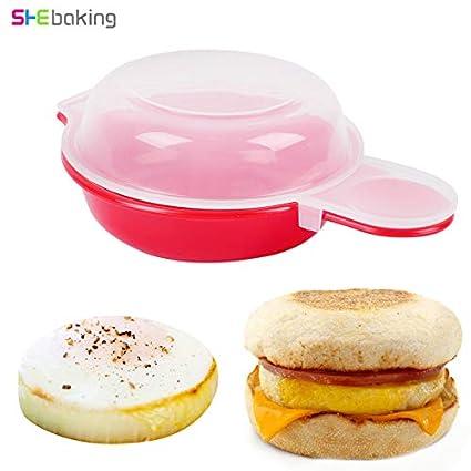 Amazon.com: Fiesta – Molde para hornear, para hornear huevos ...