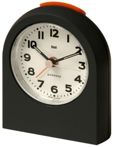 BAI Pick-Me-Up Alarm Clock, Mega Gunmetal