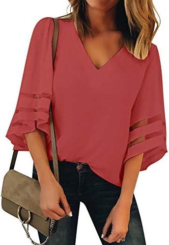 Luyeess Womens Chiffon Sleeve Blouse product image